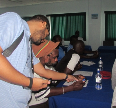 Eastern Caribbean Fisherfolk and Fisheries Administrators introduced to new Early Warning System