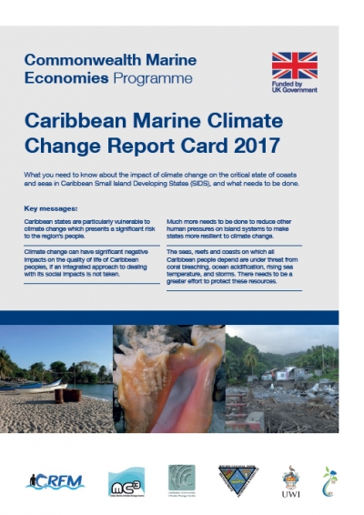 Cover of the 2017 report card